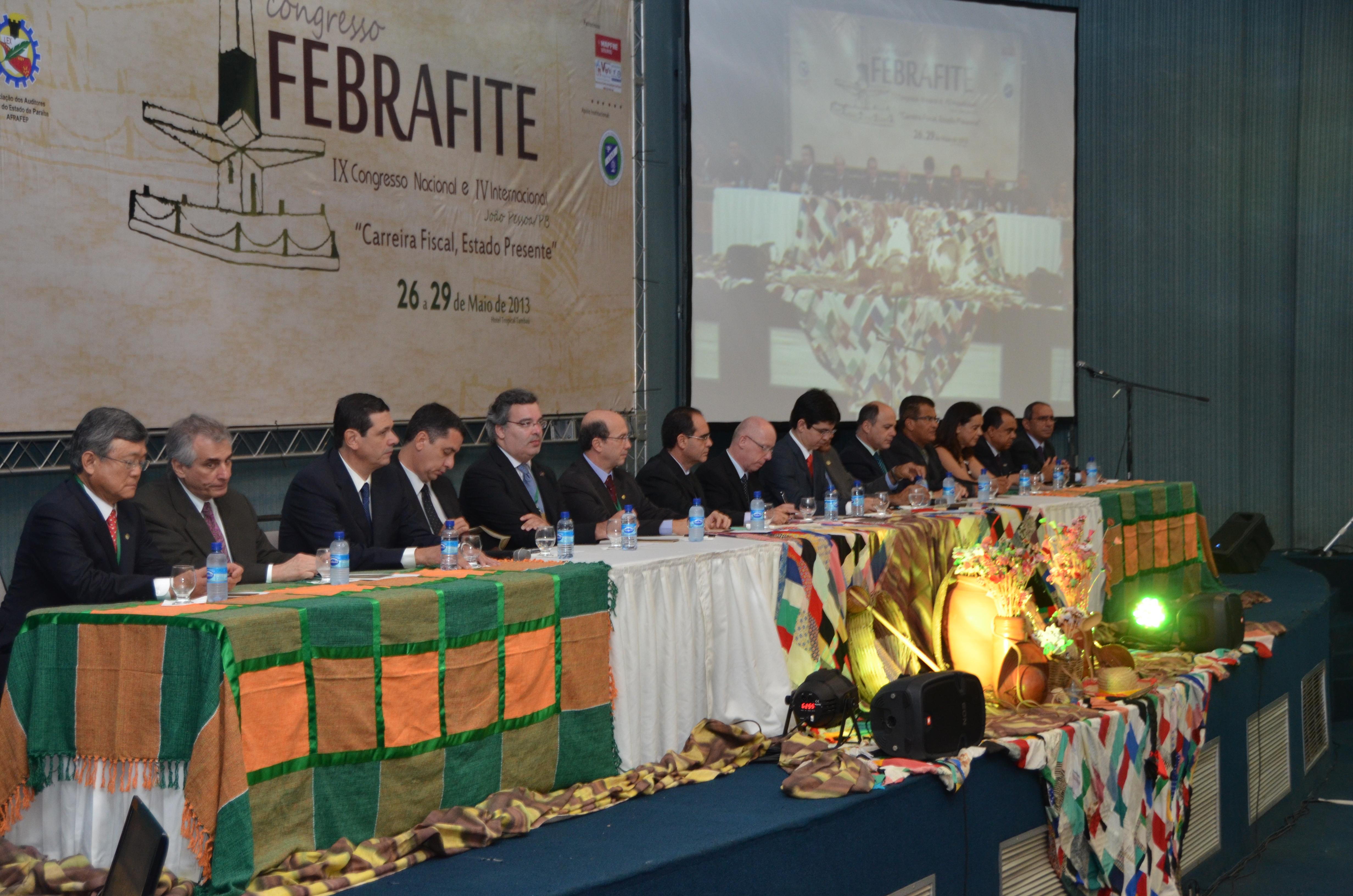 Começa o IX Congresso Nacional e IV Internacional da FEBRAFITE, em João Pessoa