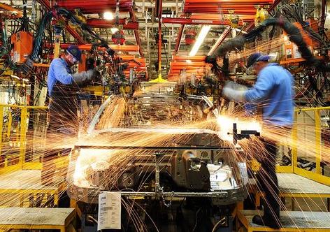 Produção industrial cai em sete locais pesquisados de abril para maio