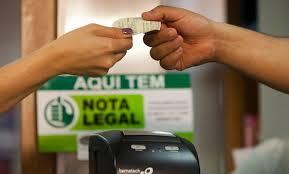 Começam os depósitos do Nota Legal em dinheiro