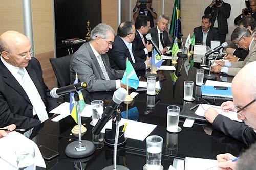 Governadores apresentam Consórcio Brasil Central ao ministro da Integração Nacional