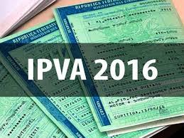 Alerta: IPVA 2016