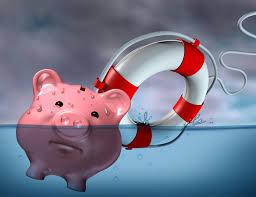 Arrecadação afunda com a crise e dívida do governo dispara