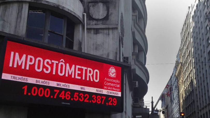 Impostômetro atinge R$ 800 bilhões nesta segunda-feira
